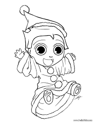 shelf elf coloring page virtren com