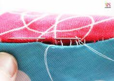 How To Do Blind Hem Stitch By Hand How To Hand Sew A Blind Hem Hand Stitching Slacks And Hands