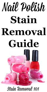 Get Nail Polish Out Of Rug Nail Polish Stain Removal Guide