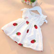 baby dress 0 2y newborn baby summer embroidery flower