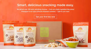snacks delivered snacks goodness in a bag delivered to your door