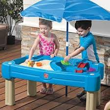 Water Table Toddler Amazon Com Step2 Cascading Cove Sand And Water Table Toys U0026 Games