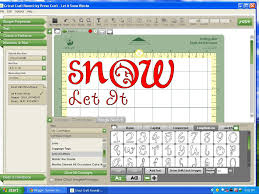 What Is Cricut Craft Room - let it snow blocks with cricut tutorial food crafts and family