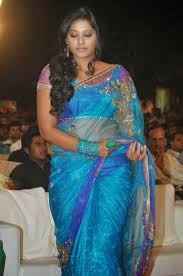hd gallery anjali in transparent saree hd