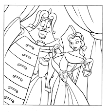 belle coloring pages getcoloringpages com