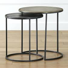accent tables sale target end tables knurl nesting accent tables set of two crate and