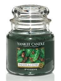 yankee candle balsam u0026 cedar 14 5oz jar parties 2 order