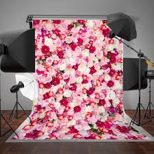 halloween background or backdrop decoration amazon amazon com susu pink flowers photo studio background 5x7ft soft