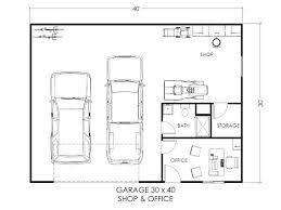 shop floor plans with living quarters garage floor plans novic me