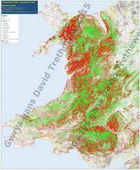 Map Of Wales Cycling Maps Of Wales U0027mapiau Beicio Cymru U0027