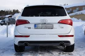 Audi Q5 Facelift - spied 2013 audi q5 to receive a trivial makeover