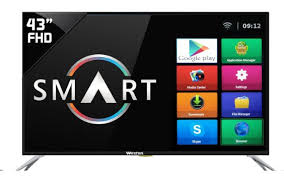 display tv weston 43 inch full hd smart led tv weston led tv