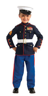 Boys Police Officer Halloween Costume Dress Blues Marine Costume Kids Costumes Halloween