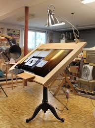 Artist Drafting Tables Drawing Machine Huge 40 4k Screen Digital Drafting