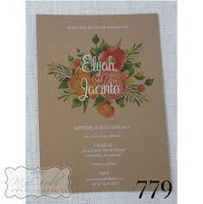 Kraft Paper Wedding Programs Mycards Wedding Invitations Auckland New Zealand