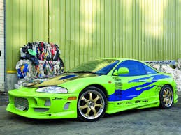 mitsubishi evo 7 2 fast 2 furious 1995 mitsubishi eclipse the fast and the furious the fast and