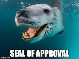 Animal Pun Meme - awesome animal pun meme image tagged in funny seal animals puns
