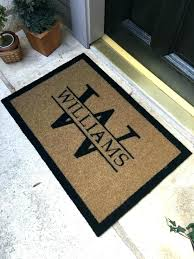 Personalized Outdoor Rugs Personalized Welcome Mats Openpoll Me
