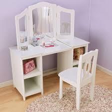 Little Girls Vanity Playset Kid Vanity Table And Chair Table Designs Childrens Vanity Set In