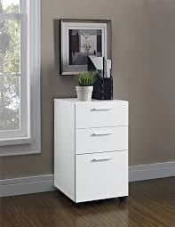 Wood 3 Drawer File Cabinet by Amazon Com Altra Princeton Mobile File Cabinet White Kitchen