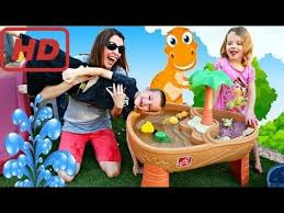 Water Table For Kids Step 2 Episode 1 Kids Playing With Step 2 Water Table U0026 Extreme Roller
