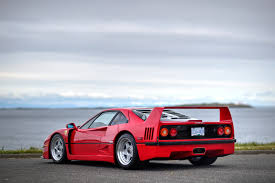 blue f40 1990 f40 silver arrow cars ltd
