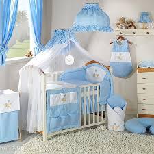 jurassien chambre parure chambre bébé garçon bleue ours hamac l promo jurassien