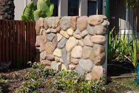 river rock wall best home interior and architecture design idea