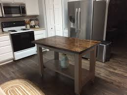 farmhouse kitchen island wood furniture creations