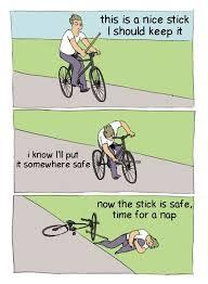 Bike Meme - stick in bike memes on the rise in r bonehurtingjuice invest