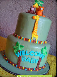 jungle baby shower cakes baby shower cakes s cakes