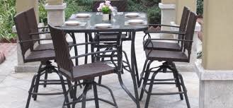 best patio dining sets wicker archives best patio dining sets