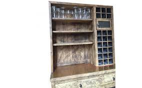 Rustic Bar Cabinet Viyet Designer Furniture Storage Custom Rustic Bar Cabinet