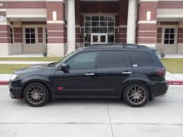 subaru forester slammed bbs rr subaru forester sh9 fmic and air suspension pinterest
