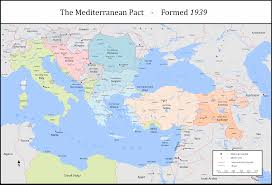 Blank Map Of Mediterranean by The Mediterranean Pact By Tullamareena On Deviantart