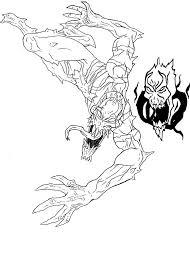 anti venom quick sketch by kidneytheft on deviantart