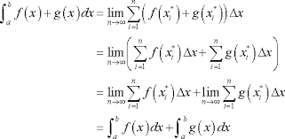 calculus i proof of various integral properties