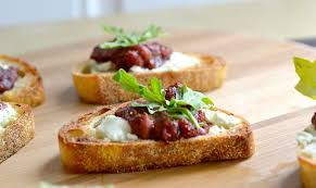 goats cheese canape recipes roasted balsamic strawberry goat cheese canapè dishes and