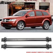 Dodge Journey Black - 09 17 dodge journey oe style roof rack cross bar crossbar black