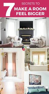 how to make a small room feel bigger how to make a small room look bigger the seven best tricks