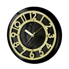 creative decoration art deco wall clock wonderful design art deco