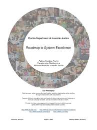florida department of juvenile justice roadmap to system
