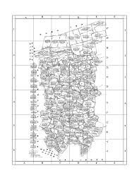 County Map Pennsylvania by Early Landowners Of Dauphin County