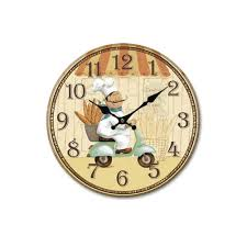 online buy wholesale wooden round clock from china wooden round