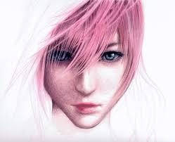 Final Fantasy Lightning Drawing Final Fantasy Lightning Game Art