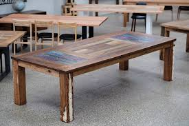 Reclaimed Timber Dining Table C Reclaimed Pine Table Emmerson Reclaimed Wood Dining Table West