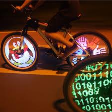 yq8003 diy bicycle light programmable bicycle spoke bike wheel led
