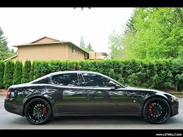 maserati sedan black 2009 maserati quattroporte sport gt black on black 22