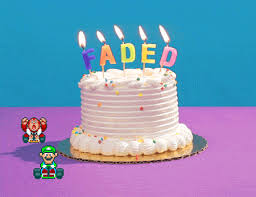 faded happy birthday gif by birthday bot find u0026 share on giphy