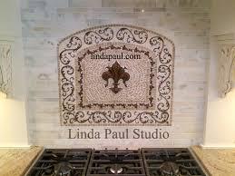 tile medallions for kitchen backsplash kitchen backsplash medallions kitchen traditional with artistic tile